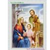 Tranh đính đá LV042 Gia đình Thánh gia 60x80