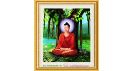 Tranh đính đá LV048 Phật Thích Ca Mâu Ni 60x65