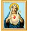 Tranh đính đá LV050 Đức mẹ Maria 50x65