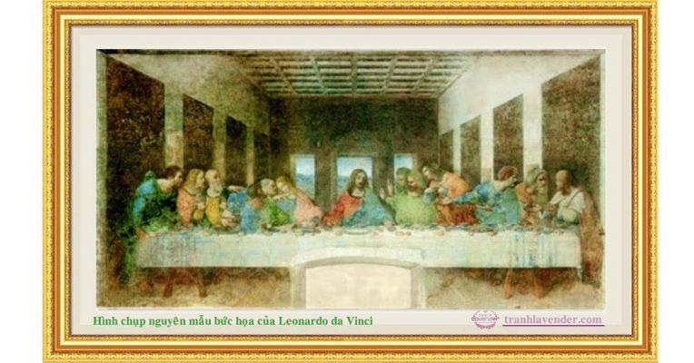 Bức tranh bữa tiệc cuối cùng nguyên bản của Leonardo da Vinci