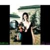 Tranh đính đá LV243 Thiếu nữ ôm bình hoa 50x60