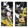 Tranh thêu chữ thập Lavender LV3038 Tứ quý sen hạc 119x59