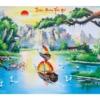 Tranh thêu chữ thập Lavender LV3044 Thuận buồm xuôi gió 108x55