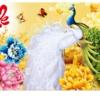 Tranh thêu chữ thập Lavender LV3053 Cha mẹ 100x50