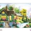 Tranh đính đá Tổ ấm hạnh phúc LV290 Lavender 146x75