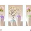 Tranh đính đá Hoa ngọc lan hồng LV292 Lavender 148x70
