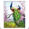 Tranh đính đá Tình yêu vĩnh cửu LV316 Lavender 60x90