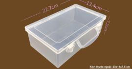Hộp đựng đồ làm tranh và hộp y tế mini