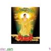 [T-LV3291] Tranh thêu chữ thập Dược Sư Lưu Ly Quang Vương Phật (kích thước nhỏ 43x67cm)