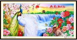 Tranh đính đá Phú Quý Bình An (khổ trung bình) ✅120x56 cm -️ VS232