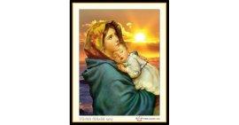 Tranh đính đá Đức mẹ Mari bồng con (khổ nhỏ) ✅66x50 cm -️ VS460