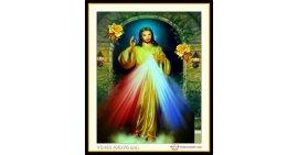 Tranh đính đá Thánh chúa Jesu (khổ nhỏ) ✅76x60 cm -️ VS463