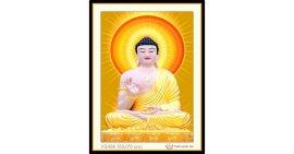 Tranh đính đá Phật tổ như lai (khổ nhỏ) ✅75x53 cm -️ VS466