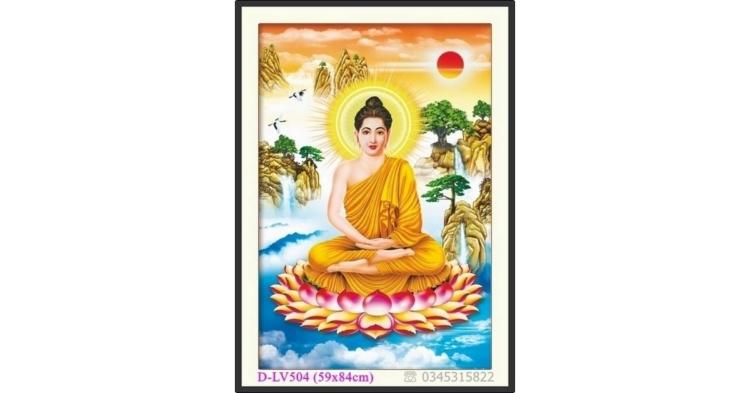 Tranh đính đá Phật Tổ - Đức Phật Thích Ca Mâu Ni - D-LV504 ❤️
